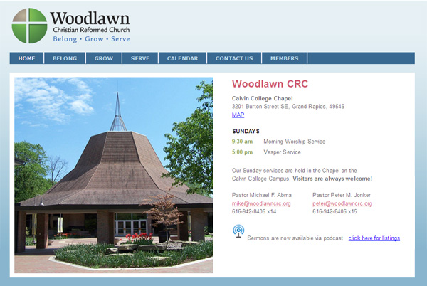 Woodlawn CRC Website